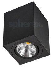 LED Armaturen - Quattro LED Opbouwarmatuur Black