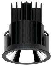 Inbouwspots - DEA DEL NERO LED downlight Black