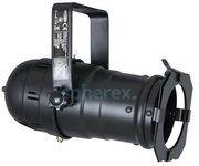 Opbouw verlichting - SPHEREX Showtec parcan 20 long armatuur Zwart