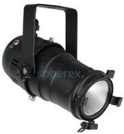 Theaterspots - SPHEREX Showtec Par 20 warm-on-dim LED armatuur Zwart