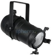 Theaterspots - SPHEREX Showtec Par 30 warm-on-dim LED armatuur Zwart