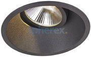 LED Armaturen - Popolare LED Adjustable downlight Black