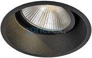 LED Armaturen - Luna LED Adjustable downlight Black