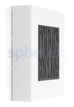 LED Armaturen - Lombardo Art 250 Bamboo LED Opbouwarmatuur Grey anthracite
