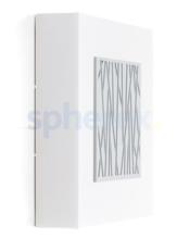LED Armaturen - Lombardo Art 250 Bamboo LED Opbouwarmatuur Grey High Tech