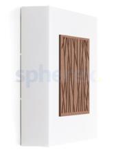 LED Armaturen - Lombardo Art 250 Bamboo LED Opbouwarmatuur Corten