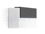 LED Armaturen - Lombardo Art 100 Top LED Opbouwarmatuur Grey anthracite