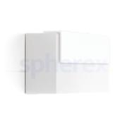 LED Armaturen - Lombardo Art 100 Top LED Opbouwarmatuur White