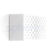 LED Armaturen - Lombardo Art 100 Crop LED Opbouwarmatuur White