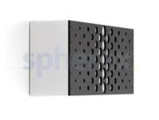LED Armaturen - Lombardo Art 100 Crop LED Opbouwarmatuur Grey anthracite