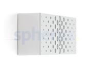 LED Armaturen - Lombardo Art 100 Crop LED Opbouwarmatuur Grey High Tech