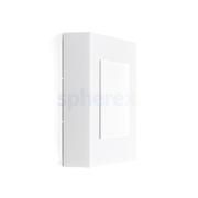 LED Armaturen - Lombardo Art 250 Mask LED Opbouwarmatuur White