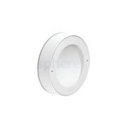 LED Armaturen - Lombardo Koi 120 LED Opbouwarmatuur White