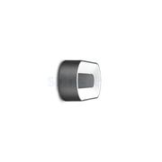 LED Armaturen - Lombardo Ross 280 LED Opbouwarmatuur Grey anthracite