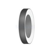 LED Armaturen - Lombardo Ross 330 LED Opbouwarmatuur Grey anthracite