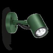 LED Armaturen - Lombardo Ago Wall LED Opbouwarmatuur Anodized Alluminum Green