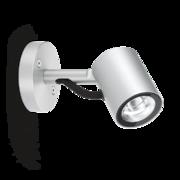 LED Armaturen - Lombardo Ago Wall LED Opbouwarmatuur Anodized Alluminum Grey