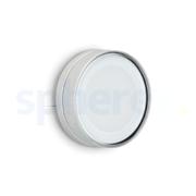 LED Armaturen - Lombardo Ago Top LED Opbouwarmatuur Anodized Alluminum Grey