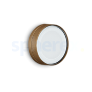 LED Armaturen - Lombardo Ago Top LED Opbouwarmatuur Anodized Alluminum Brown