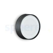 LED Armaturen - Lombardo Ago Top LED Opbouwarmatuur Anodized Alluminum Black