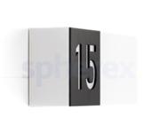 Lombardo - Lombardo Art 100 Code LED Opbouwarmatuur Grey anthracite