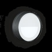 LED Armaturen - Lombardo Ago Top Asimmetrico LED Opbouwarmatuur Anodized Alluminum Black