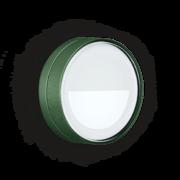 LED Armaturen - Lombardo Ago Top Asimmetrico LED Opbouwarmatuur Anodized Alluminum Green