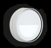LED Armaturen - Lombardo Ago Top Asimmetrico LED Opbouwarmatuur Anodized Alluminum Grey