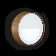 Lombardo - Lombardo Ago Top Asimmetrico LED Opbouwarmatuur Anodized Alluminum Brown