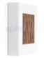 Lombardo Art 250 Bamboo LED Opbouwarmatuur Corten - Lombardo Art 250 Bamboo LED Opbouwarmatuur Corten